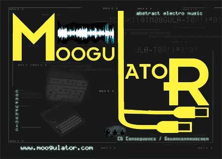 moogulator music flyer
